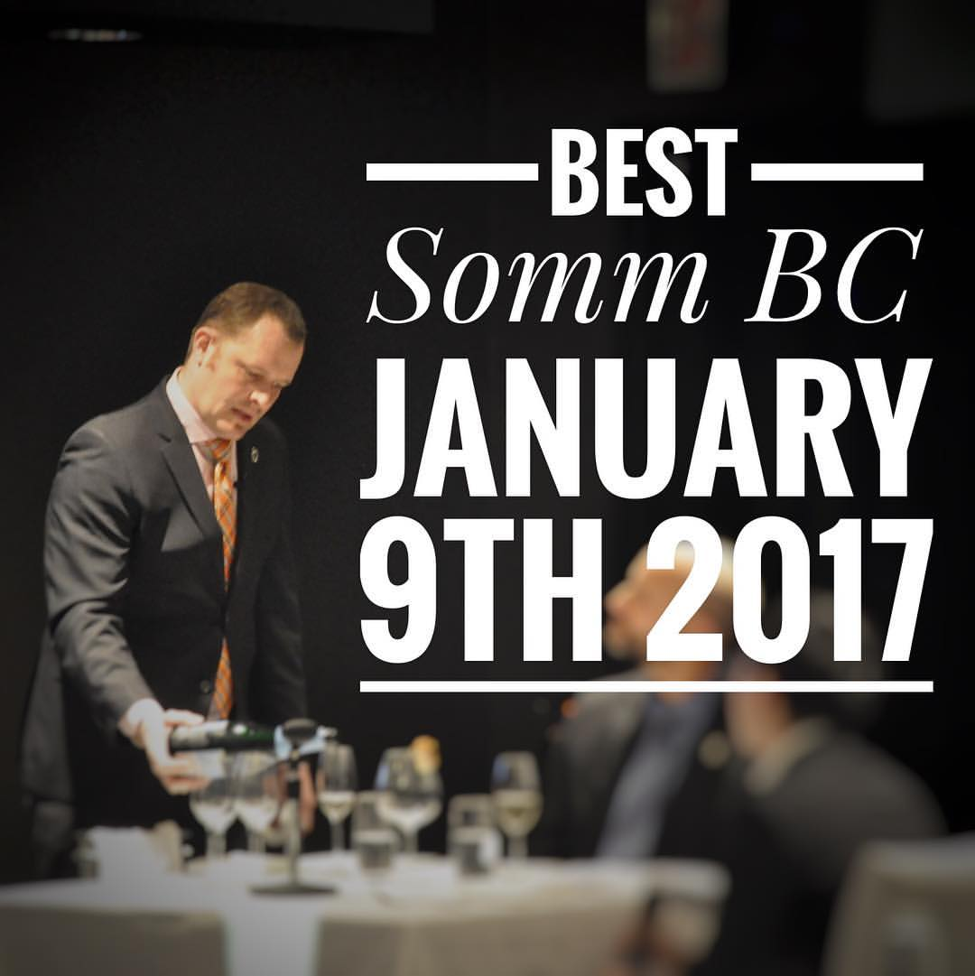 Best Sommelier of BC 2017