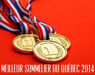 Quebec's Best Sommelier 2014